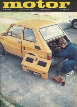 """""""Motor"""" nr 14 z 6 kwietnia 1986 r. /Motor"""