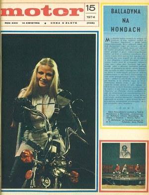 """""""Motor"""" nr 15 z 14 kwietnia 1974 r. /Motor"""