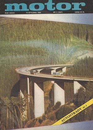 """Motor"" nr 2 z 10 stycznia 1988 roku /Motor"