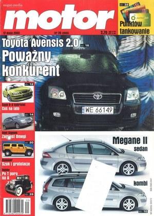 """""""Motor"""" nr 20 z 17 maja 2003 r. /Motor"""