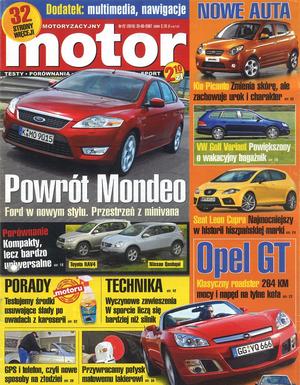 """""""Motor"""" nr 22 z 28 maja 2007 r. /Motor"""