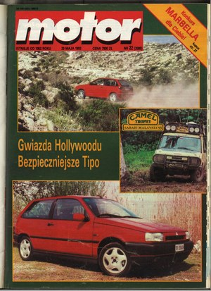 """""""Motor"""" nr 22 z 29 maja 1993 r. /Motor"""