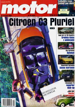 """Motor"" nr 24 z 14 czerwca 2003 r. /Motor"