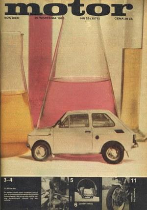 """Motor"" nr 25 z 26 września 1982 r. /Motor"