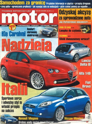 """Motor"" nr 26 z 26 czerwca 2006 r. /Motor"