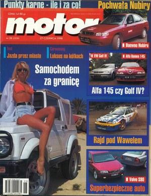 """Motor"" nr 26 z 27 czerwca 1998 r. /Motor"