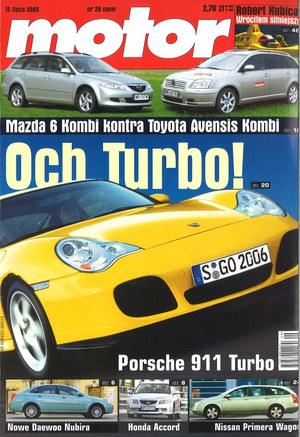 """""""Motor"""" nr 29 z 15 lipca 2003 r. /Motor"""