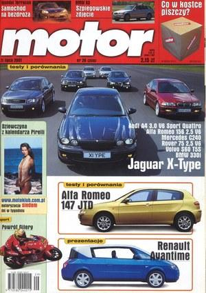 """""""Motor"""" nr 29 z 21 lipca 2001 r. /Motor"""