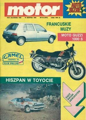 """""""Motor"""" nr 32 z 12 sierpnia 1990 r. /Motor"""