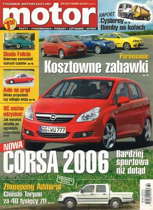 """""""Motor"""" nr 32 z 8 sierpnia 2005 r. /Motor"""