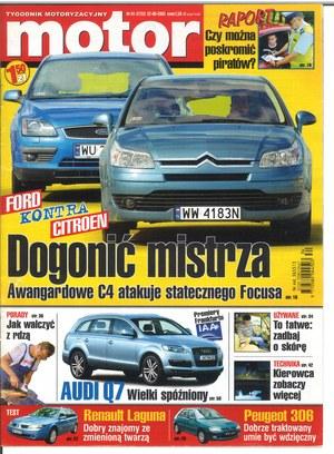 """""""Motor"""" nr 34 z 22 sierpnia 2005 r. /Motor"""