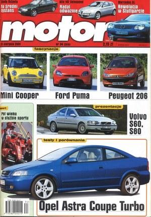 """""""Motor"""" nr 34 z 25 sierpnia 2001 r. /Motor"""