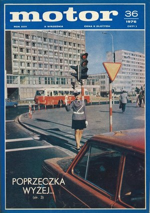 """Motor"" nr 36 z 5 września 1976 r. /Motor"
