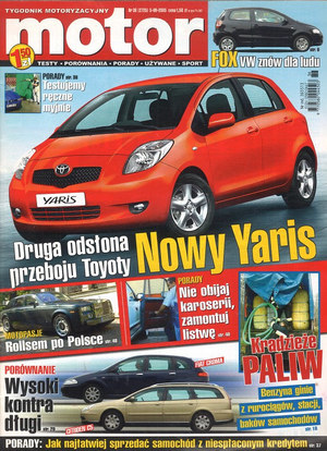 """Motor"" nr 36 z 5 września 2005 r. /Motor"