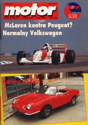 """Motor"" nr 37 z 10 września 1994 r. /Motor"