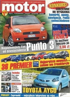 """Motor"" nr 37 z 12 września 2005 r. /Motor"