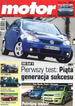 """""""Motor"""" nr 41 z 7 października 2003 r. /Motor"""