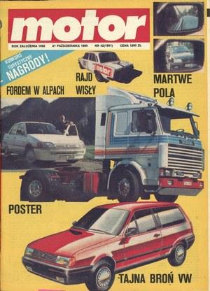 """""""Motor"""" nr 42 z 21 października 1990 roku /Motor"""