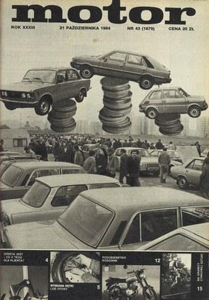 """""""Motor"""" nr 43 z 21 października 1984 r. /Motor"""