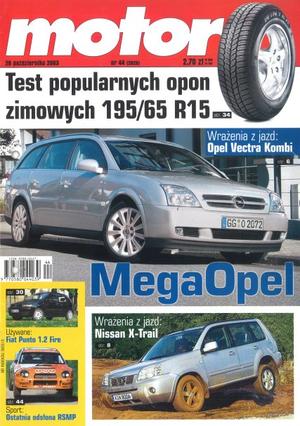 """""""Motor"""" nr 44 z 28 października 2003 r. /Motor"""