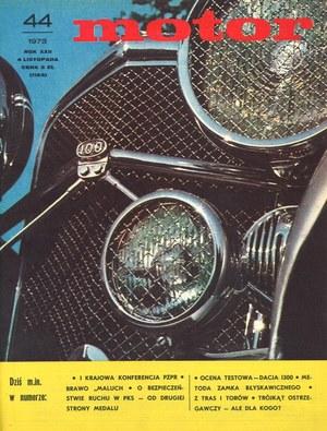 """""""Motor"""" nr 44 z 4 listopada 1973 r. /Motor"""