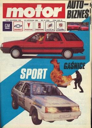 """""""Motor"""" nr 47 z 25 listopada 1990 r. /Motor"""
