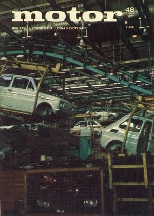 """""""Motor"""" nr 48 z 27 listopada 1977 r. /Motor"""