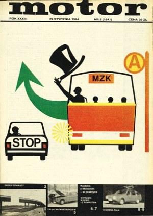 """Motor"" nr 5 z 29 stycznia 1984 roku /Motor"