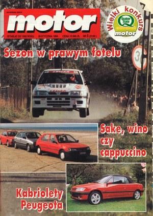 """""""Motor"""" nr 5 z 29 stycznia 1994 r. (kliknij, żeby powiększyć) /Motor"""