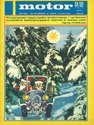 """""""Motor"""" nr 51/52 z 22 grudnia 1974 r. /Motor"""