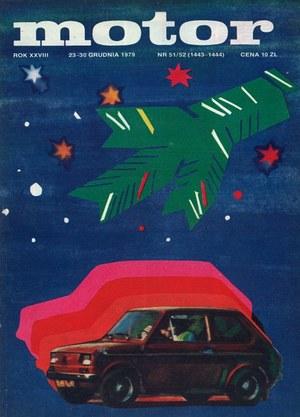 """""""Motor"""" nr 51/52 z 23 grudnia 1979 r. /Motor"""