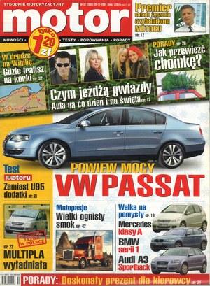 """""""Motor"""" nr 52 z 20 grudnia 2004 r. /Motor"""