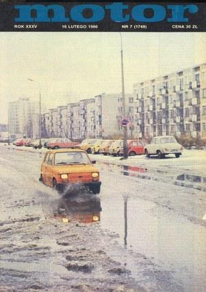 """""""Motor"""" nr 7 z 16 lutego 1986 r. /Motor"""