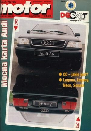 """""""Motor"""" nr 8 z 25 lutego 1995 r. /Motor"""