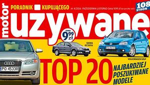 """""""Motor"""" Poradnik Kupującego Używane - pierwsza dwudziestka polskiego rynku wtórnego"""