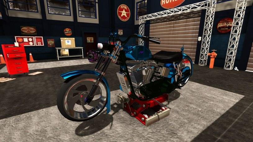 Motorbike Garage Mechanic Simulator /materiały prasowe