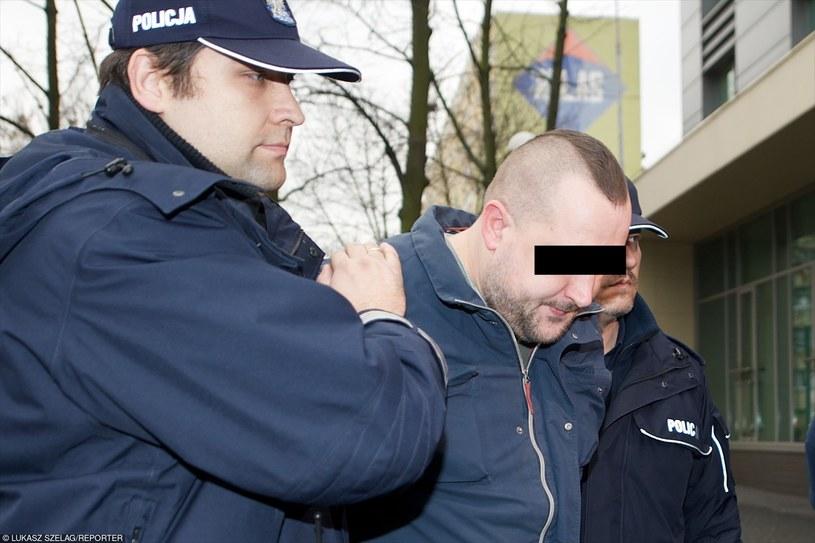 Motorniczy z Łodzi podczas zatrzymania /Łukasz Szeląg /Reporter