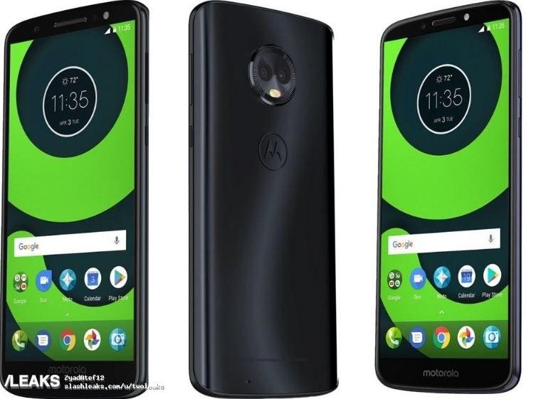 Motorola Moto G6 będzie miała cieńsze ramki /Slashleaks /Twitter