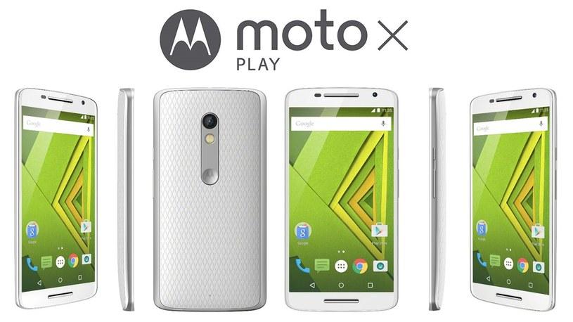 Motorola Moto X Play /materiały prasowe
