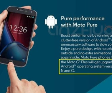 "Motorola ""zapowiada"" Androida O"