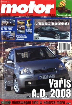 """""""Motorze"""" nr 16 z 19 kwietnia 2003 r. /Motor"""