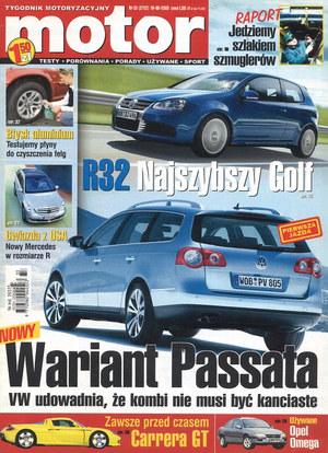 """""""Motorze"""" nr 33 z 16 sierpnia 2005 r. /Motor"""