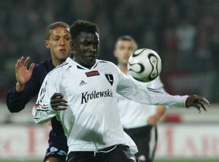 Moussa Ouattara Fot. Marek Biczyk /Agencja Przegląd Sportowy