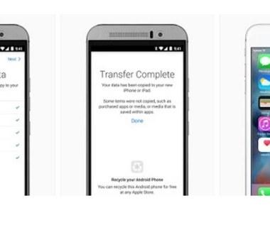 Move to iOS - pierwsza aplikacja Apple na Androida