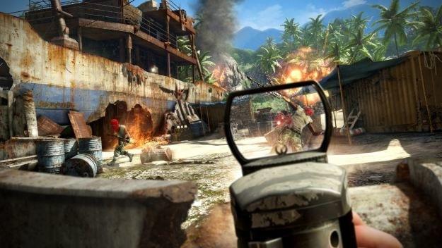 Możliwe jest nie tylko ciche pozbawianie życia wrogów, ale również zabawa w stylu Rambo /Informacja prasowa