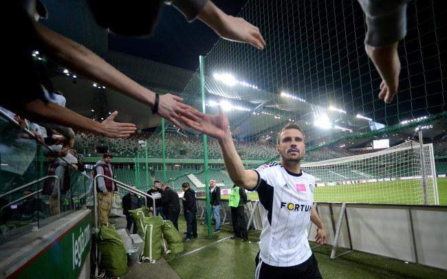 Możliwe, że po sezonie Orlando Sa pożegna się z Legią /Bartłomiej Zborowski /PAP