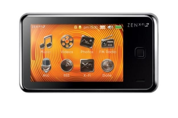 MP4 Creative ZEN X-Fi 2 /materiały prasowe