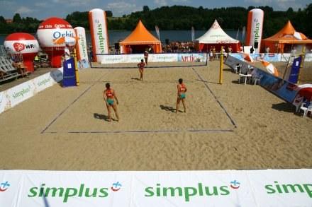 Mrągowo znów gości specjalistki od siatkówki plażowej Fot. Simplus Cup /