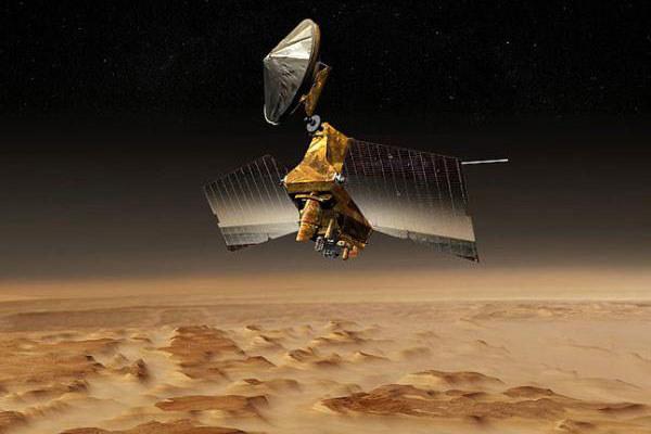 MRO na orbicie Marsa /NASA