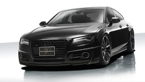 Mrocza twarz Audi A7